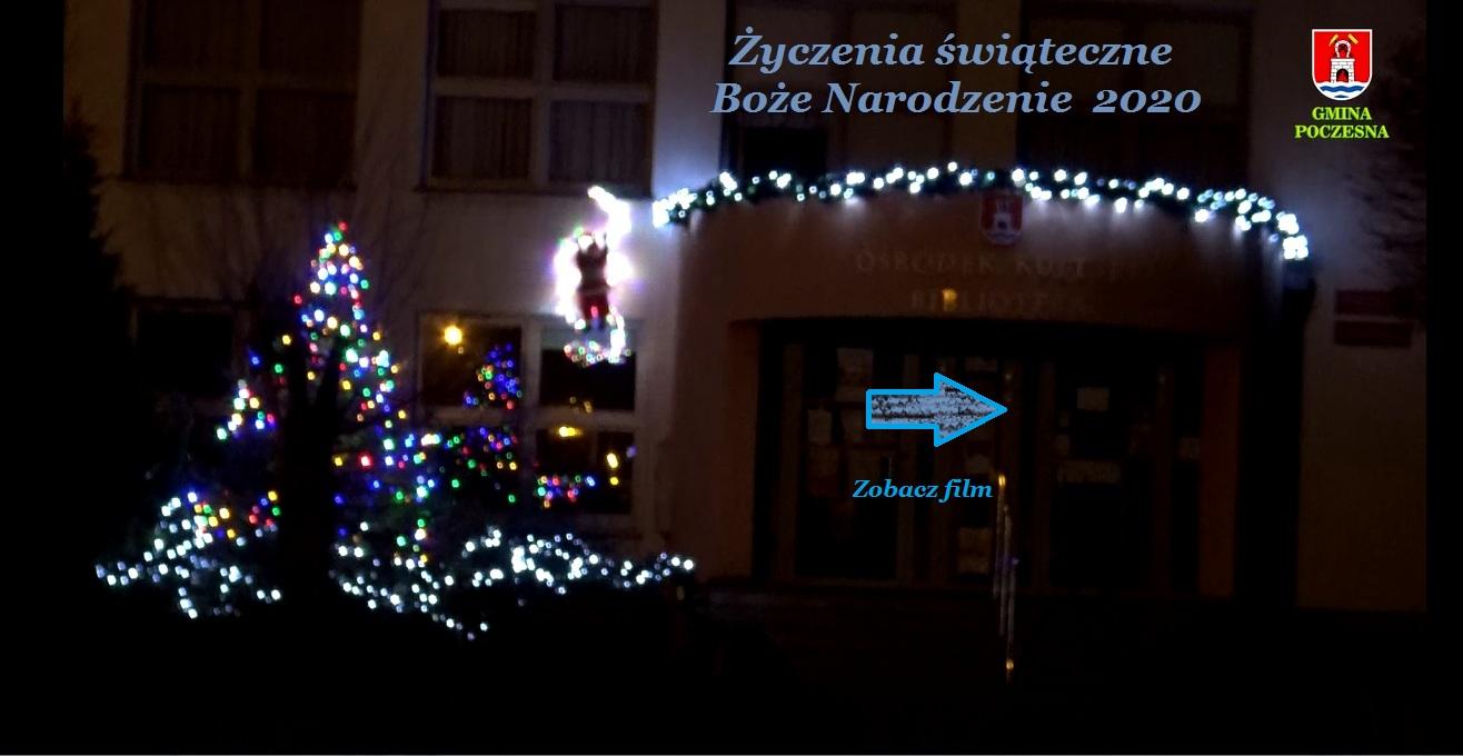 Życzenia świąteczne - Boże Narodzenie 2020 >> film
